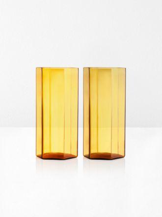 Coucou Tall Glasses Set of 2 by Maison Balzac - Miel