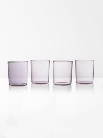 Glasses set of 4 | Maison Balzac - Pink