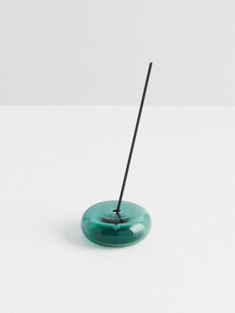 The Pebble Incense Holder by Maison Balzac - Teal
