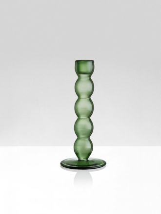 Green Volute Candleholder by Maison Balzac