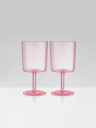Wine Glasses Set of 2 by Maison Balzac - Pink