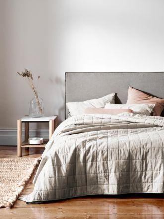 Maison Vintage Bed Cover - Natural