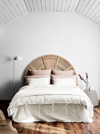 Maison Vintage Quilt Cover - White