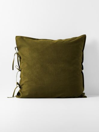 Maison Vintage European Pillowcase - Khaki