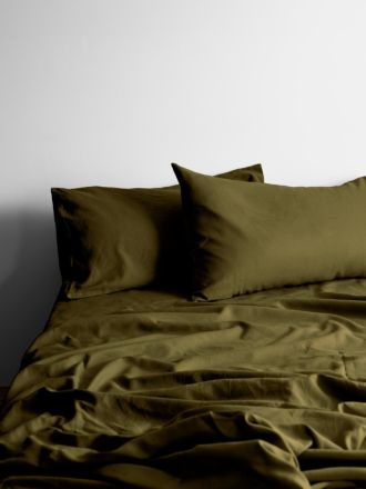 Maison Vintage Sheet Set - Khaki