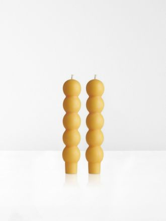 Miel Volute 2Pk Candles by Maison Balzac