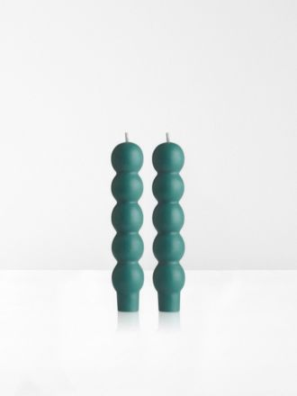 Teal Volute 2Pk Candles by Maison Balzac