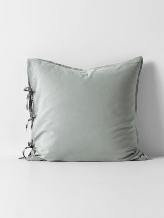 Maison Vintage European Pillowcase - Limestone