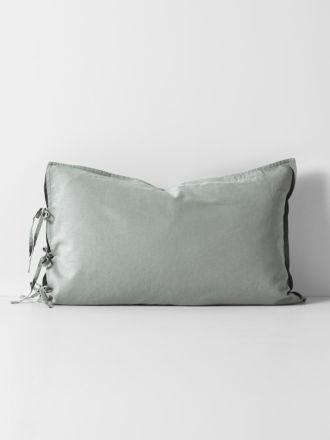 Maison Vintage Standard Pillowcase - Limestone