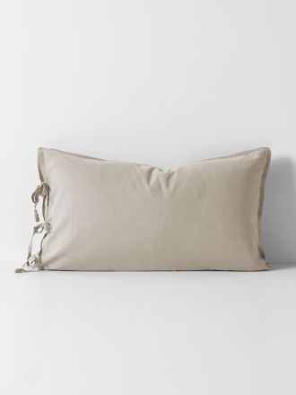 Maison Vintage Standard Pillowcase - Natural