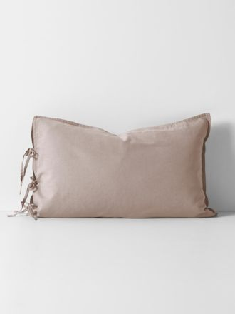 Maison Vintage Standard Pillowcase - Nude