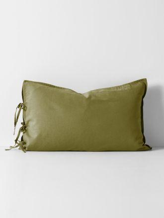 Maison Vintage Standard Pillowcase - Olive