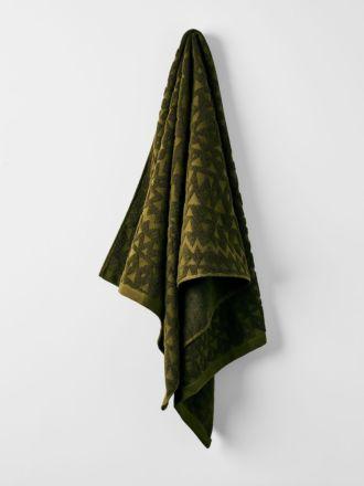 Maya Bath Towel - Khaki