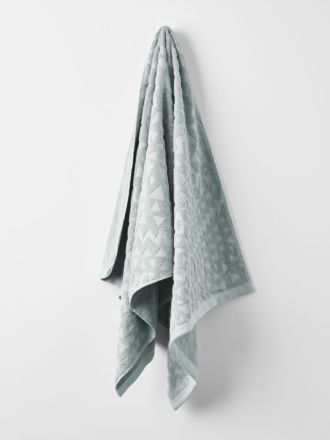 Maya Bath Towel - Limestone