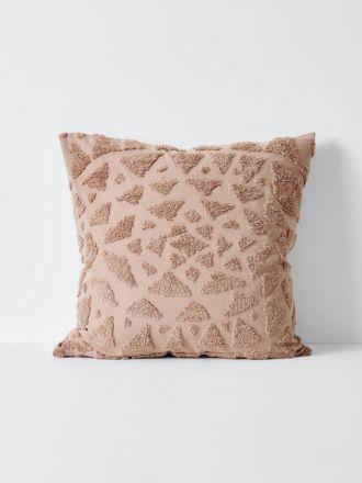 Maya European Pillowcase - Rosewater