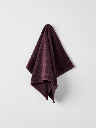 Maya Hand Towel - Fig