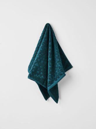 Maya Hand Towel - Indian Teal