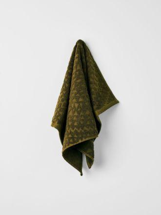 Maya Hand Towel - Khaki