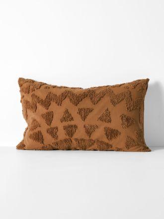 Maya Standard Pillowcase - Caramel