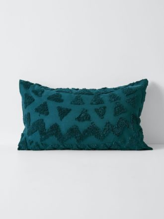 Maya Standard Pillowcase - Indian Teal