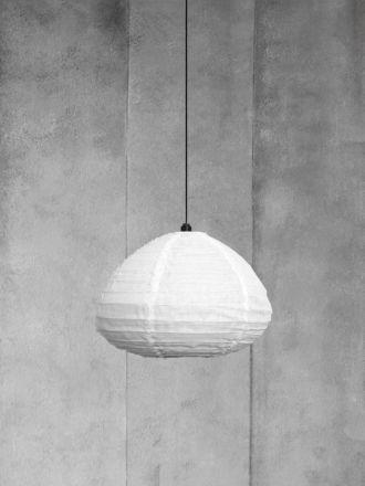Fringed Linen Light Shade - Marshmallow