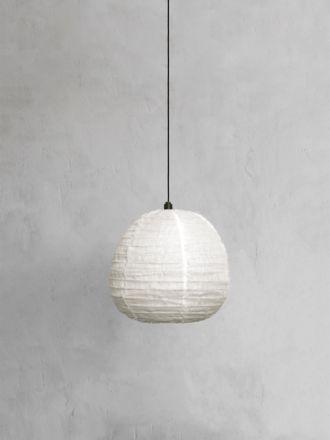 Fringed Linen Light Shade Small - Vanilla