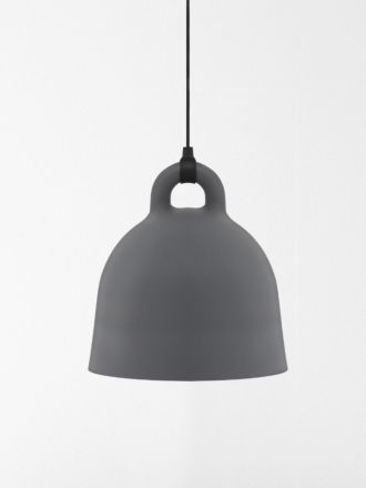Bell Lamp Large in Grey by Normann Copenhagen