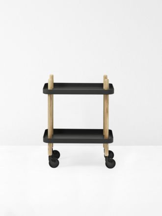 Block Table in Black by Normann Copenhagen