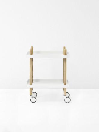 Block Table in White by Normann Copenhagen