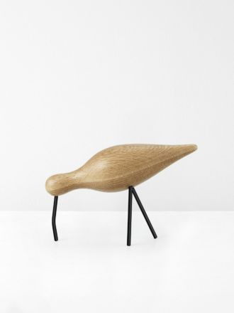 Shorebird Large in Oak by Normann Copenhagen