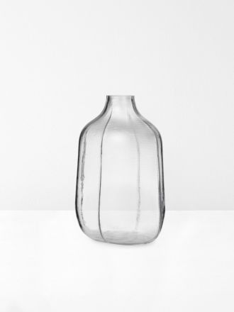 Step Tall Vase in Clear by Normann Copenhagen