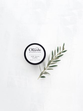 Wild Lemon Myrtle Body Butter by Olieve & Olie