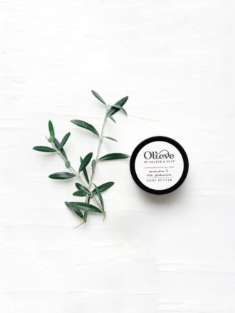 Lavender, Rose & Orange Body Butter by Olieve & Olie