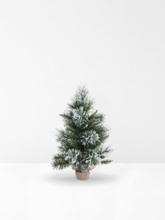 Mini Fir Snow Christmas Tree
