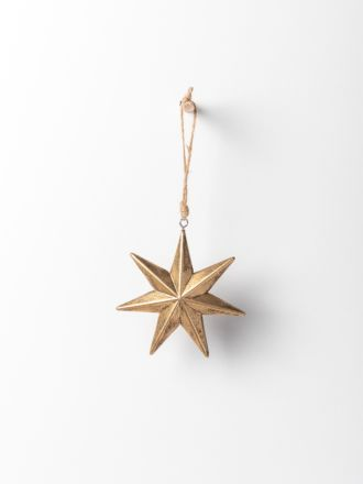 Jasper Wooden Star - Large