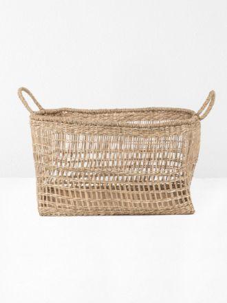 Lally Woven Basket Rectangular Large