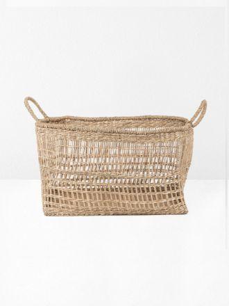 Lally Woven Basket Rectangular Medium