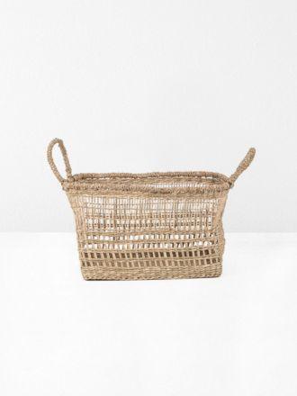 Lally Woven Basket Rectangular Small
