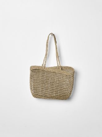Lally Woven Tote Small