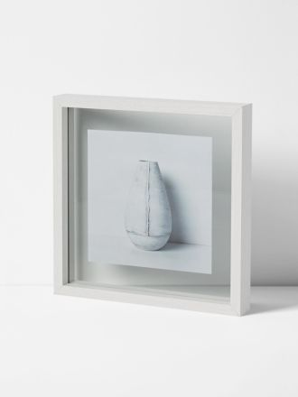 Theo Large Frame - White