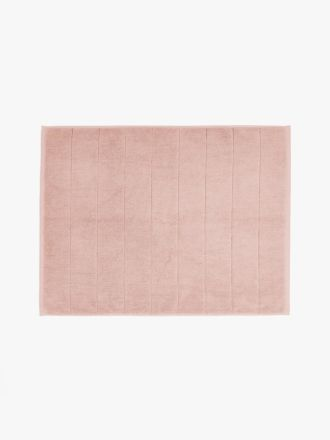 Paros Bath Mat - Pink Clay