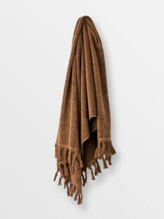 Paros Bath Towel - Caramel