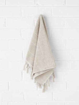 Paros Hand Towel - Natural