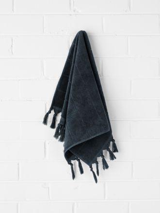 Paros Hand Towel - Slate