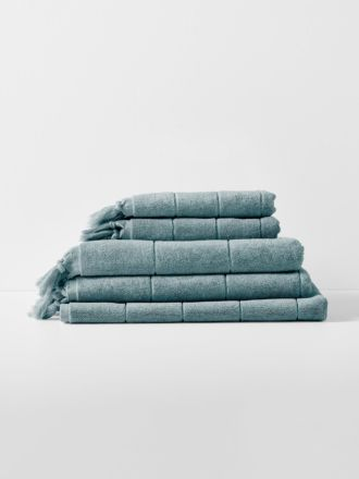 Paros Bath Towel Set - Eucalypt