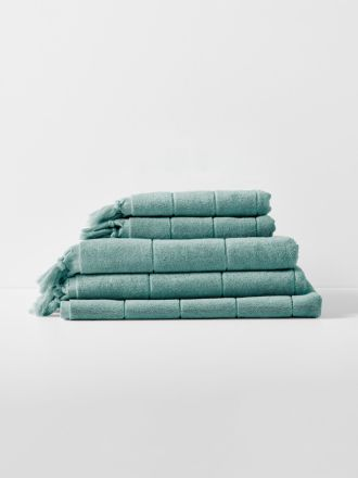 Paros Bath Towel Set - Jade