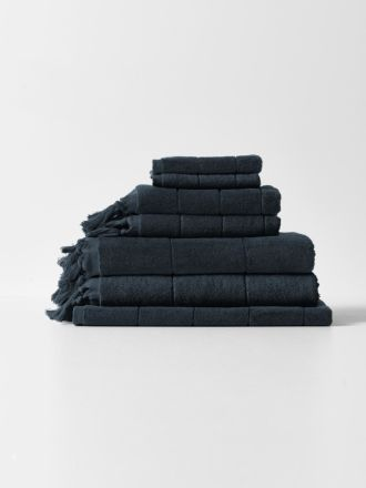 Paros Bath Towel Set - Slate