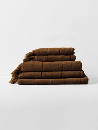 Paros Bath Towel Set - Tobacco
