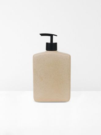 Flask Lotion Bottle in Granite by Robert Gordon