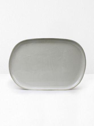 Serving Platter in Saltbush - Aura Home by Robert Gordon